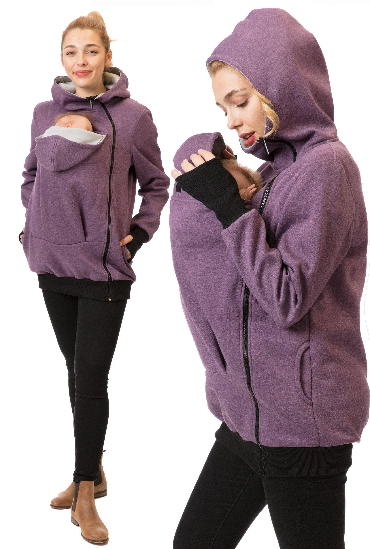 d69a002f15f7b GoFuture® Baby carrying jacket Baby carrying hoodie Kangaroo VIVA ...