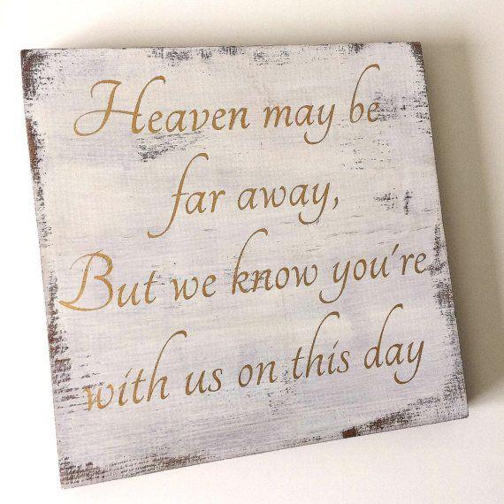 Reception Ceremony Burial: Wedding Memorial Sign, Memorial Sign, Wedding Sign, Wood