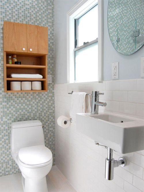 mueble-para-cuartos-de-bano-pequeños7 | Ambientes: Baños ...