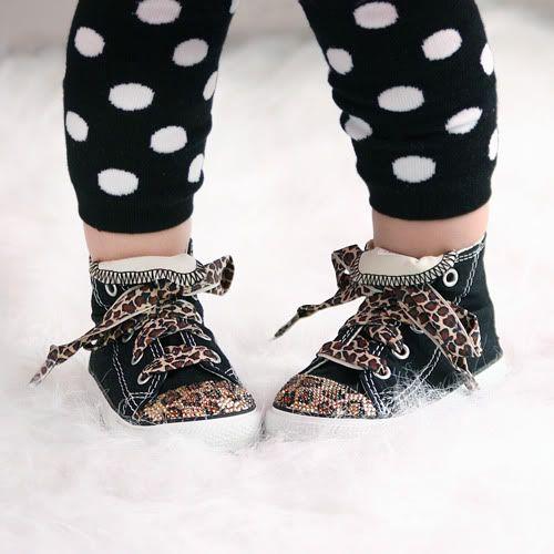 DIY Blinged Converse Shoes U Create