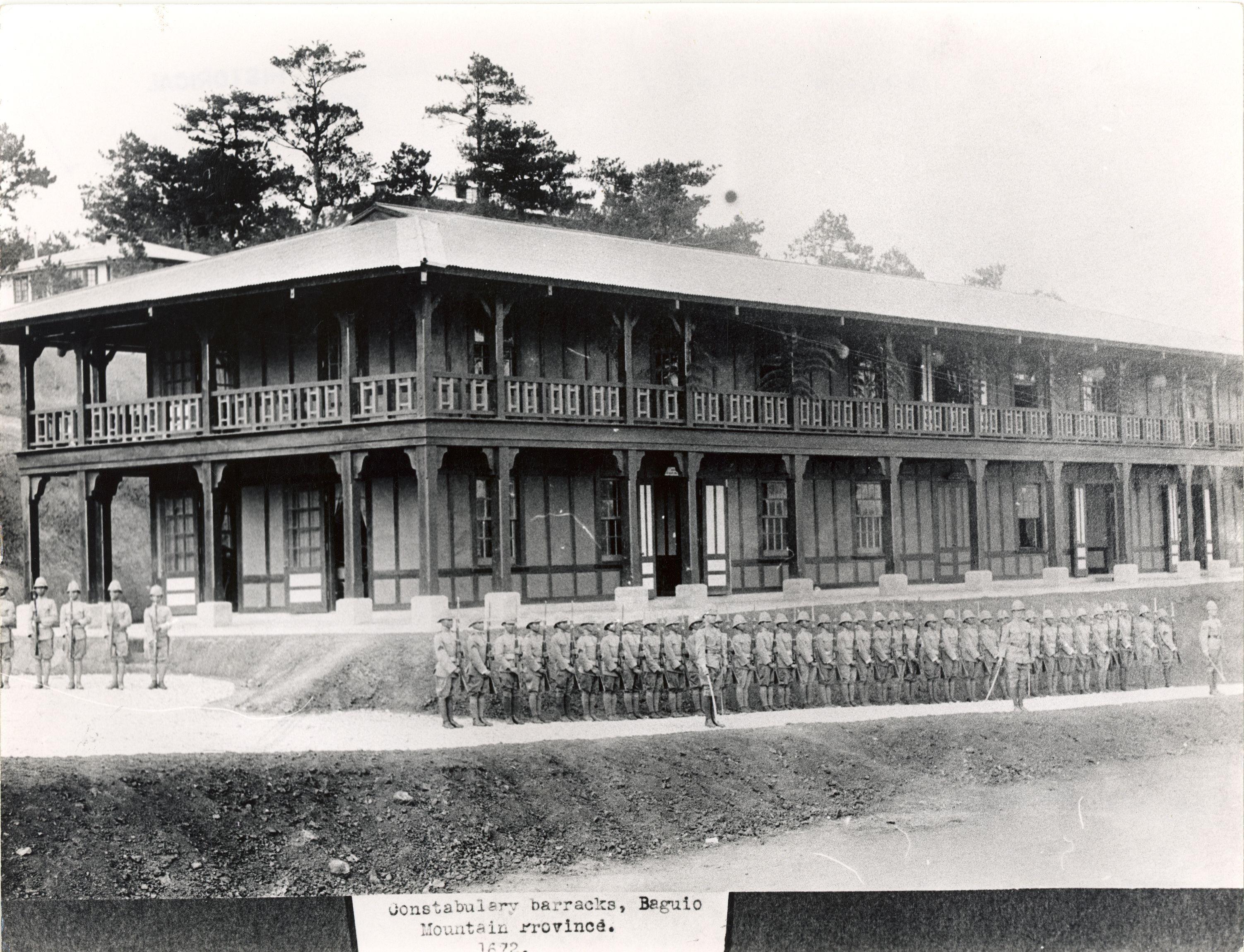 The Constabulary Barracks, Baguio, Mountain Provinces
