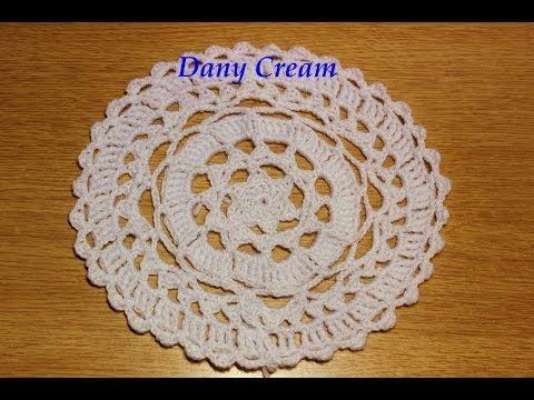 Come Fare Un Centrino Rotondo All Uncinetto Facile Centro De Mesa Redondo A Crochet Youtube Uncinetto Uncinetto Facile Lavoro All Uncinetto