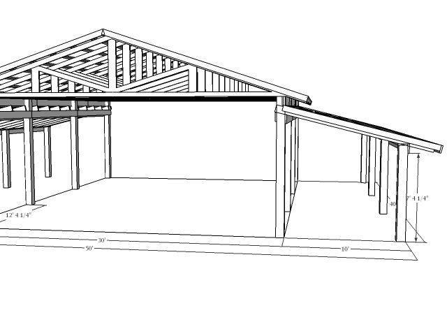 Pole barn designs pole barn http www harperfarms com for Wood pole barn plans free