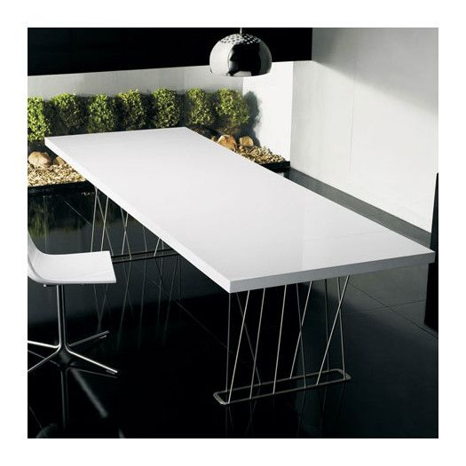 Luxo By Modloft Clarges Dining Table Allmodern