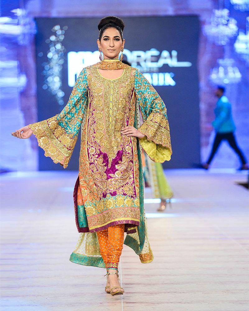 74eaba48de Nomi Ansari Latest Bridal Dresses Collection 2016-2017 Ft. Maya & Junaid…