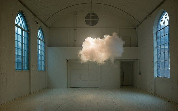 Nimbus II by Berndnaut Smilde - catch a cloud