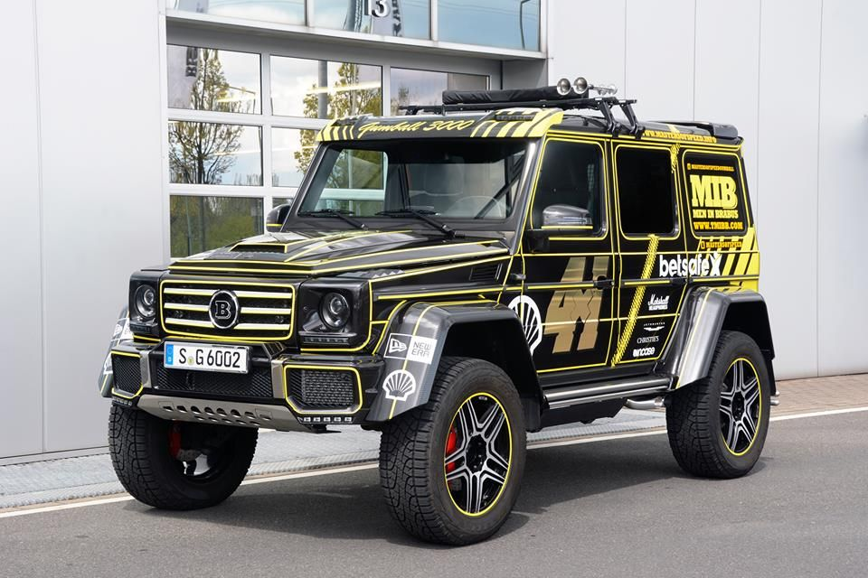 Gallery Brabus G6000 At Gumball 3000 Gumball 3000 Mercedes Mercedes Jeep