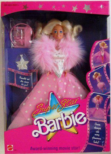 Superstar Barbie - Award Winning Movie Star | Barbie, Barbie ...