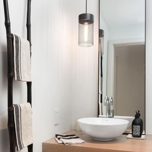 Utility meets tranquility in this #loveyourlumens bath Home