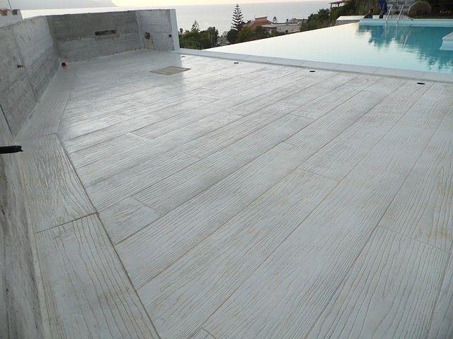 Calcestruzzo Stampato Palermo : Realizzazione pavimento stampato in cemento sicilia trapani