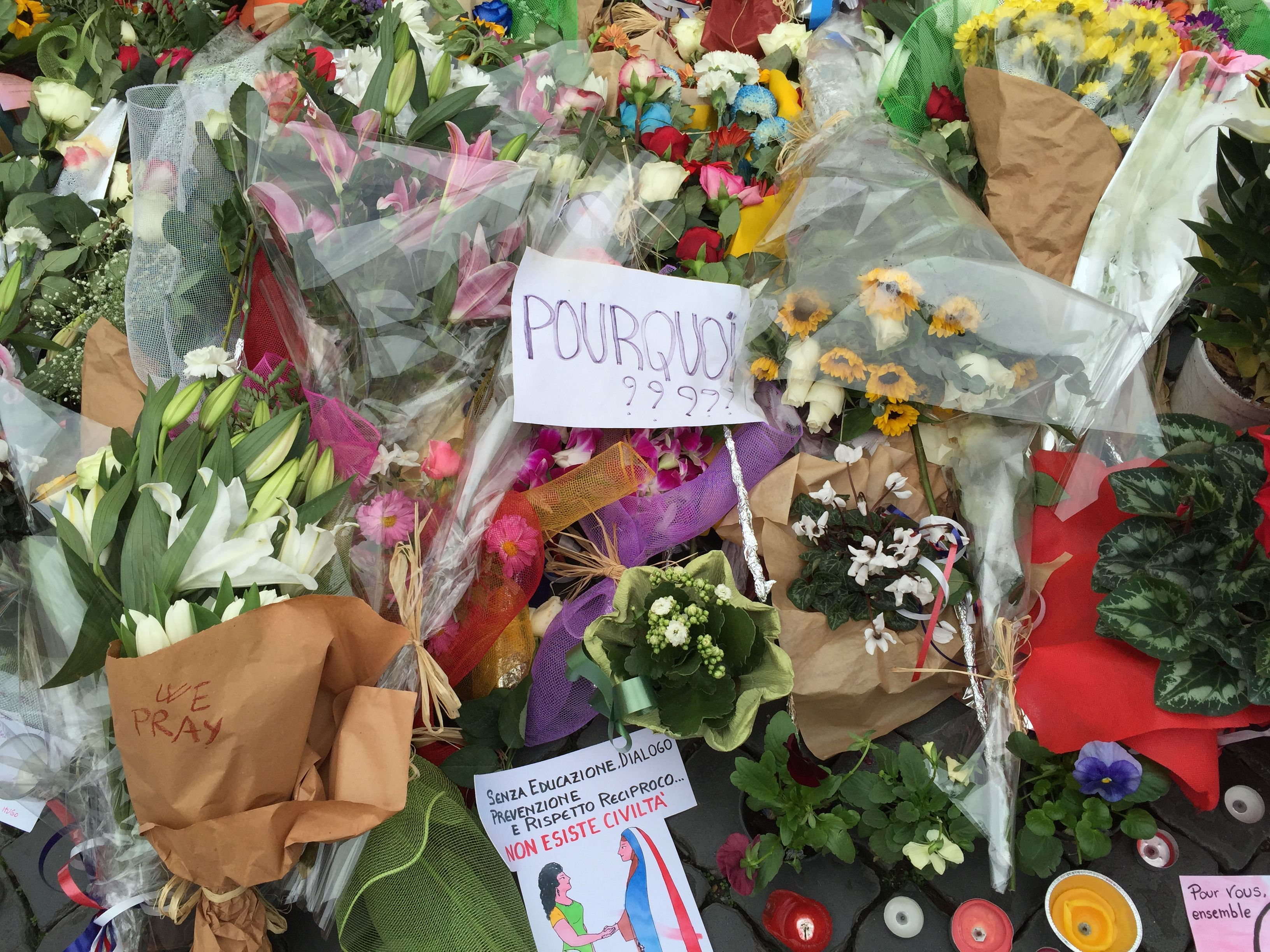 pourquoipourquoi parisattacks why indeed? Yellow flats
