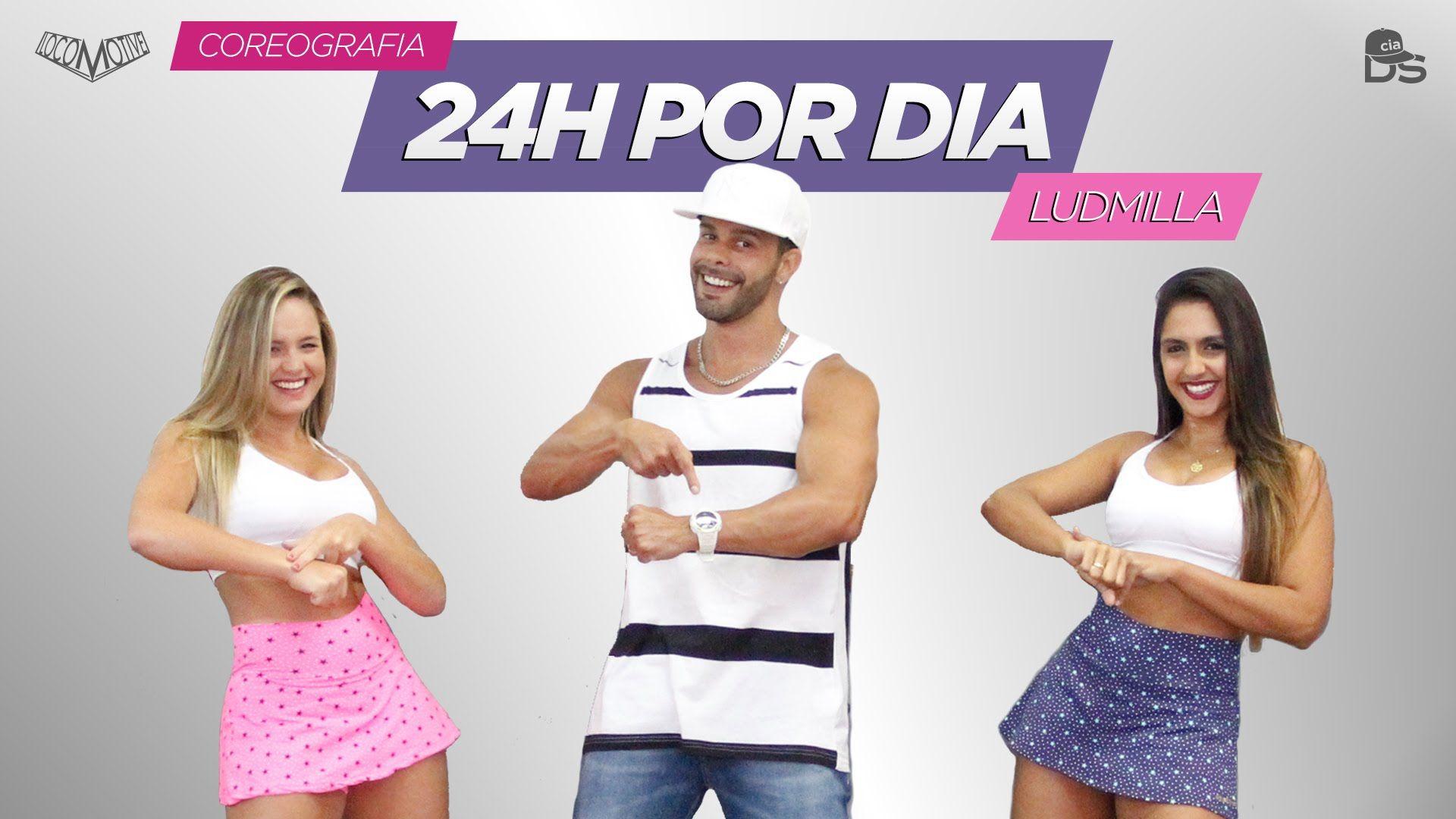 24 Horas Por Dia Ludmilla Cia Daniel Saboya Coreografia