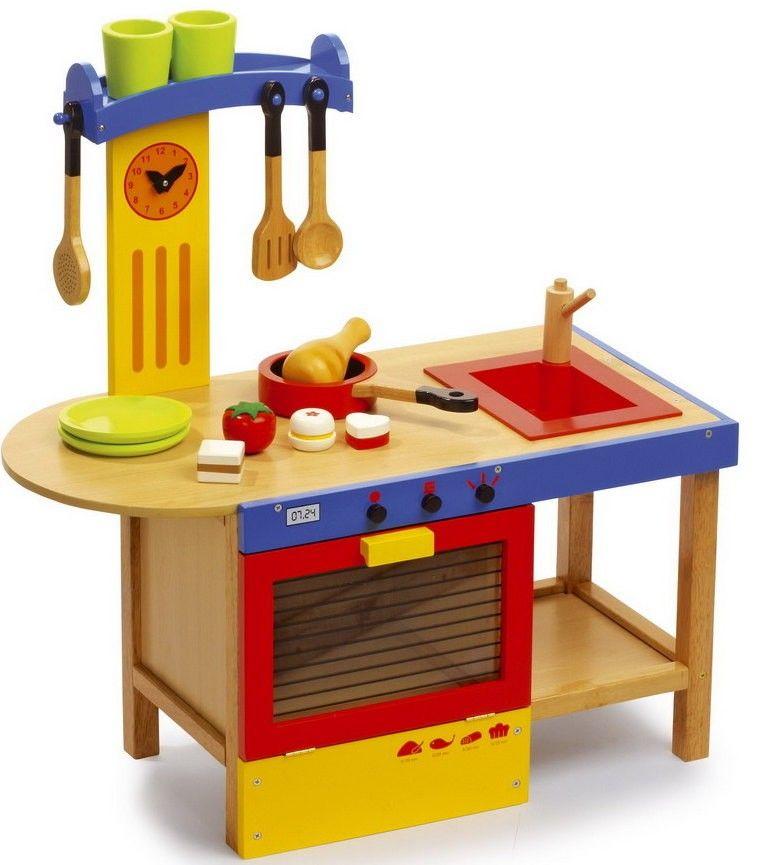 Cocinita Infantil De Madera Magica En El Pais Los Juguetes