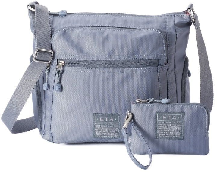 48472e5f6ced E.T.A. by Rosetti Mykonos Large Crossbody Bag with Rfid-Blocking Pouch