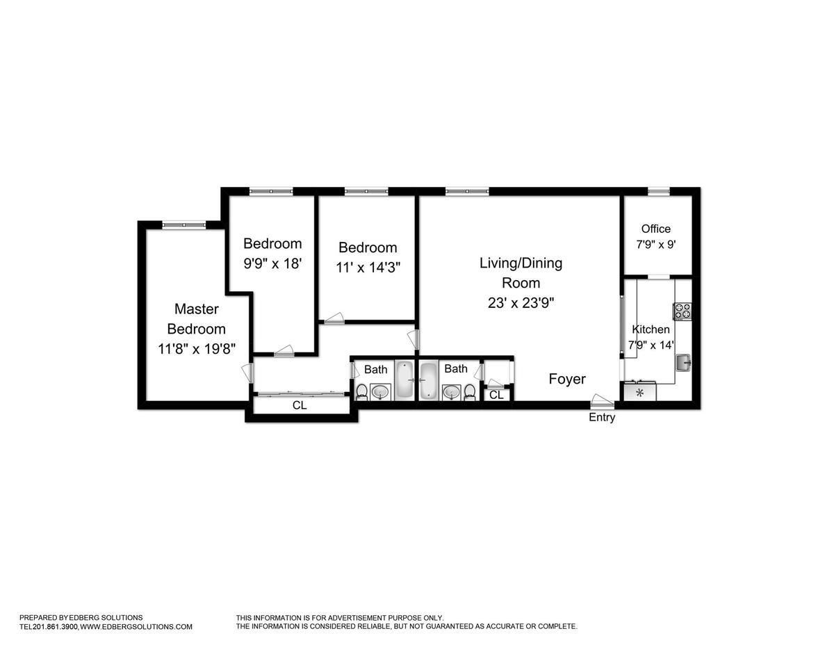 Image Result For Nyc Railroad Apartment Floorplan