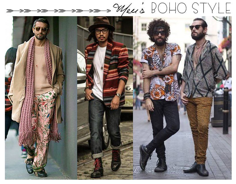 Boho Chic Outfit For Men