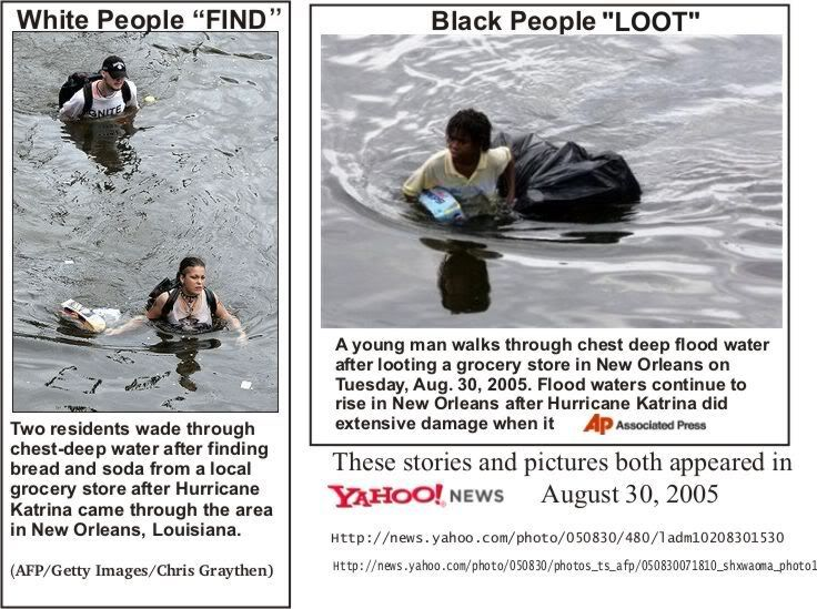 hurricane katrina media coverage race - Google Search | News Pieces ...