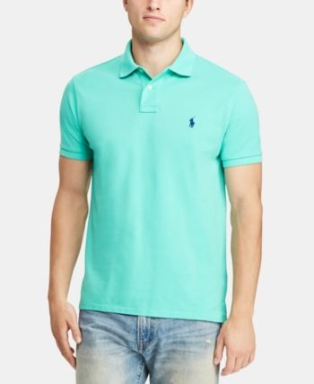 Custom Men Ralph 2019Products Polo In Fit Lauren Mesh Slim O0PX8knw