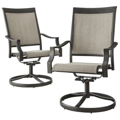 Sling Motion Patio Chairs Marge Carson Threshold Harriet 2 Piece Chair Set My