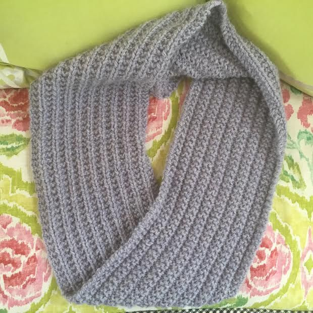 Knitnscribble Luscious Infinity Scarf For Spring Scarves To