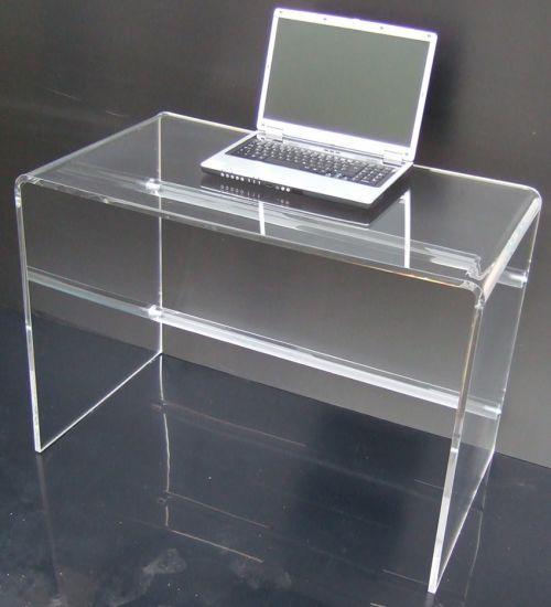 Scrivania Plexiglas brillante by Table, Laptop