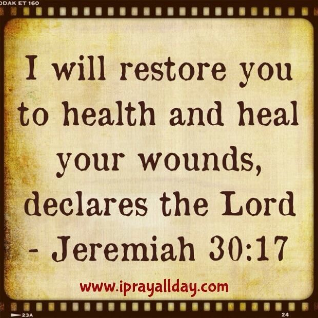 Image result for healed in Jesus