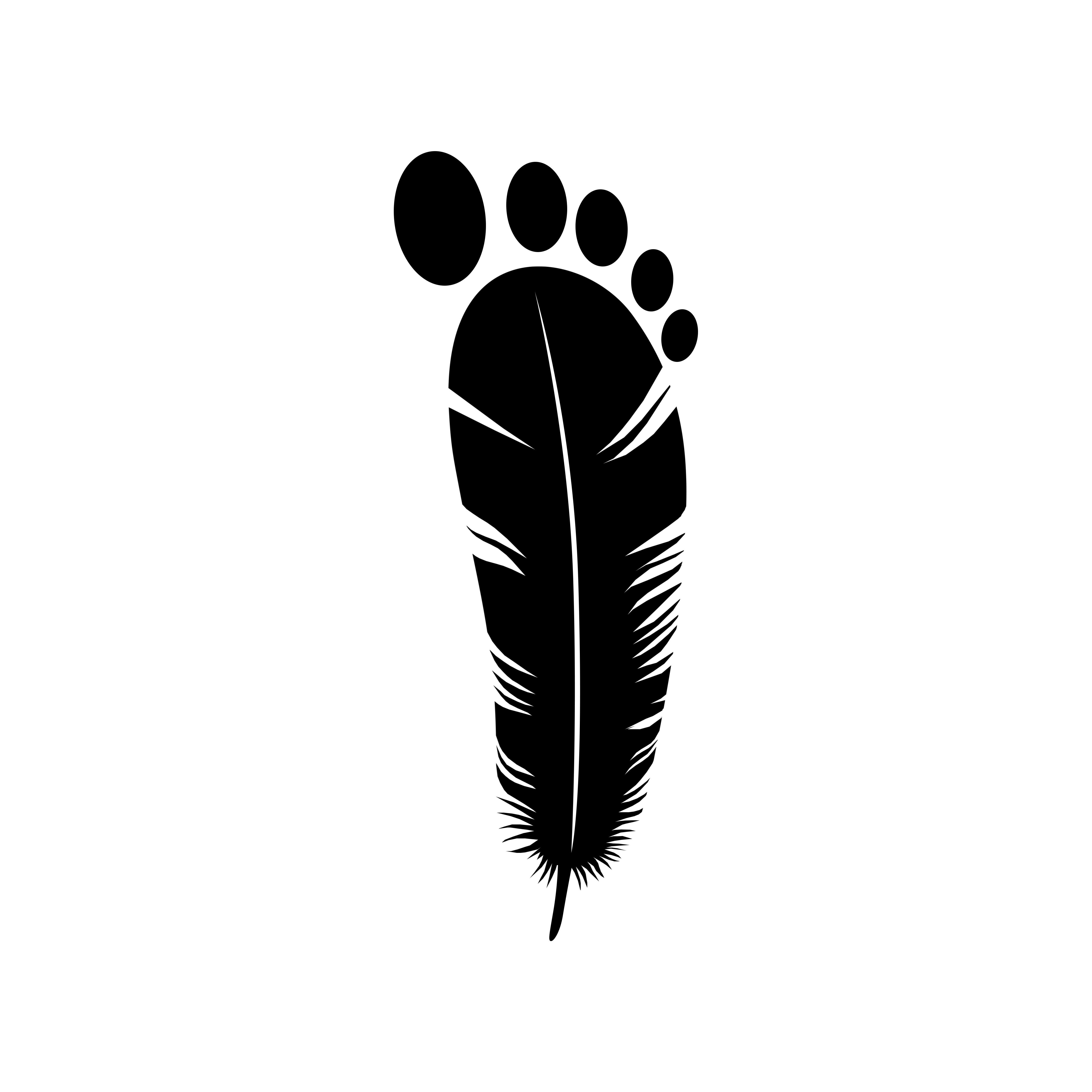 Instagram iamsufa Light foot logo design Baby logo