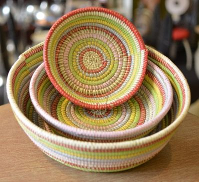 Baskets made in Senegal