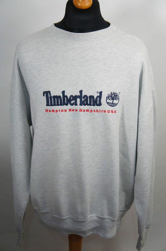 7285dc5ed5 MENS VINTAGE 90S TIMBERLAND SWEATSHIRT TOP SIZE XL 99P START RETRO GOOD CON  £41.00 (29B)
