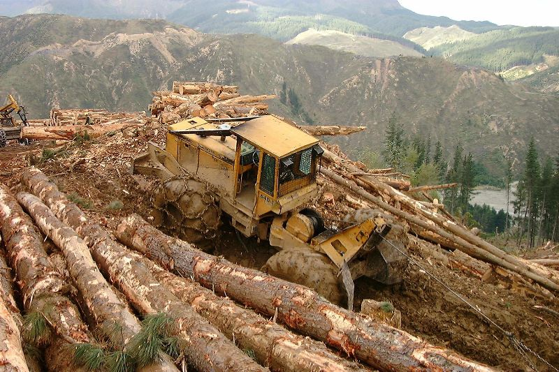 Wooden Toy Log Skidder : Logging skidders skidder equipment pinterest