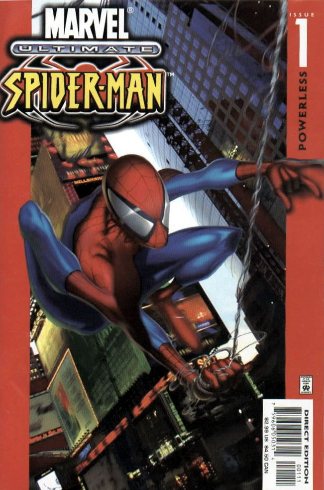 Ultimate Spider Man Vol 1 1 Ultimate Spiderman Spiderman Comic Spiderman