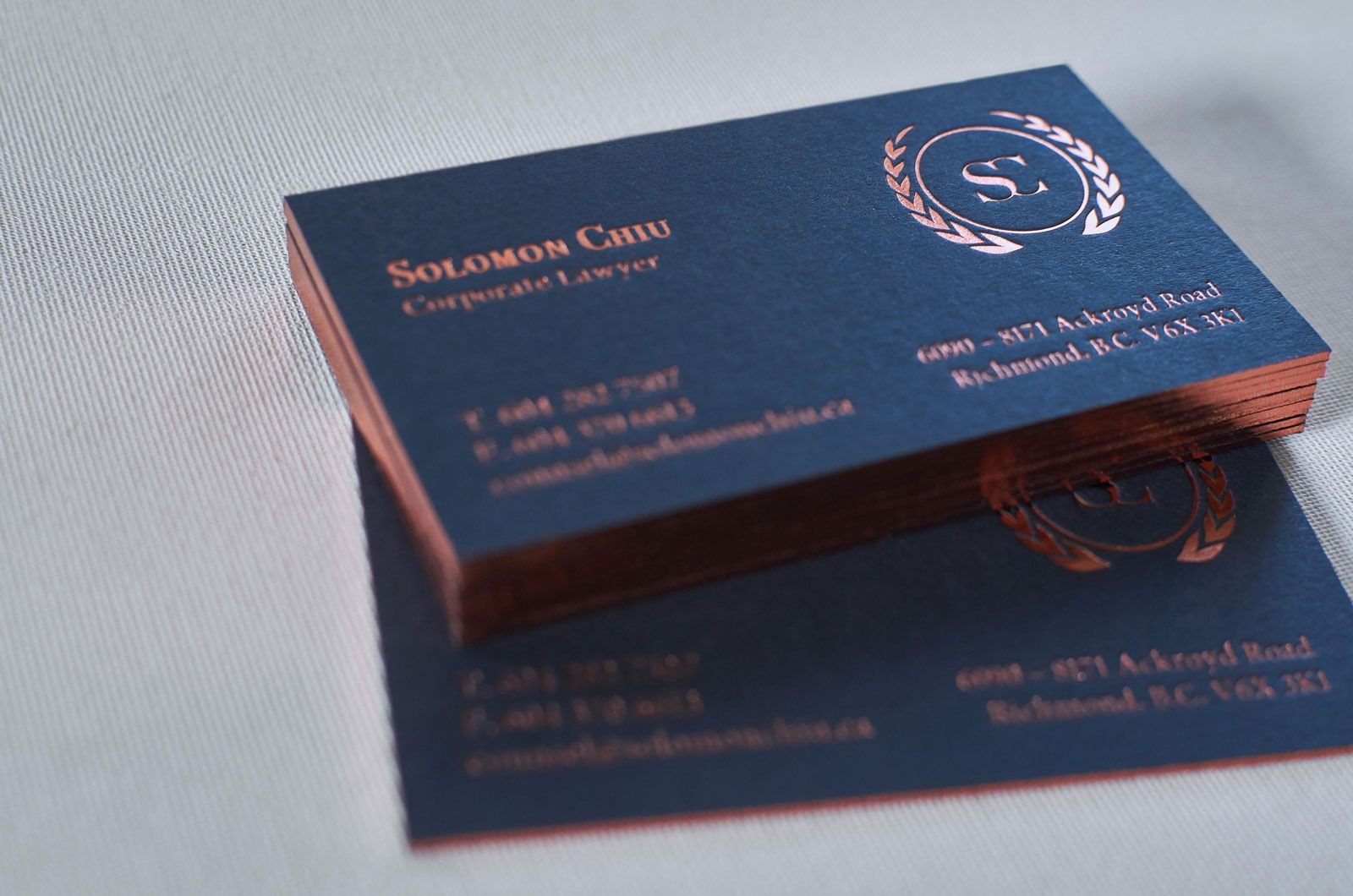 Letterpress Business Cards Elegante Press Letterpress Business Cards Luxury Business Cards Business Card Graphic