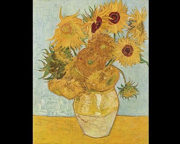 Los Cuadros Más Famosos De Vincent Van Gogh Girasoles De Van Gogh Pinturas De Van Gogh Cuadros De Van Gogh