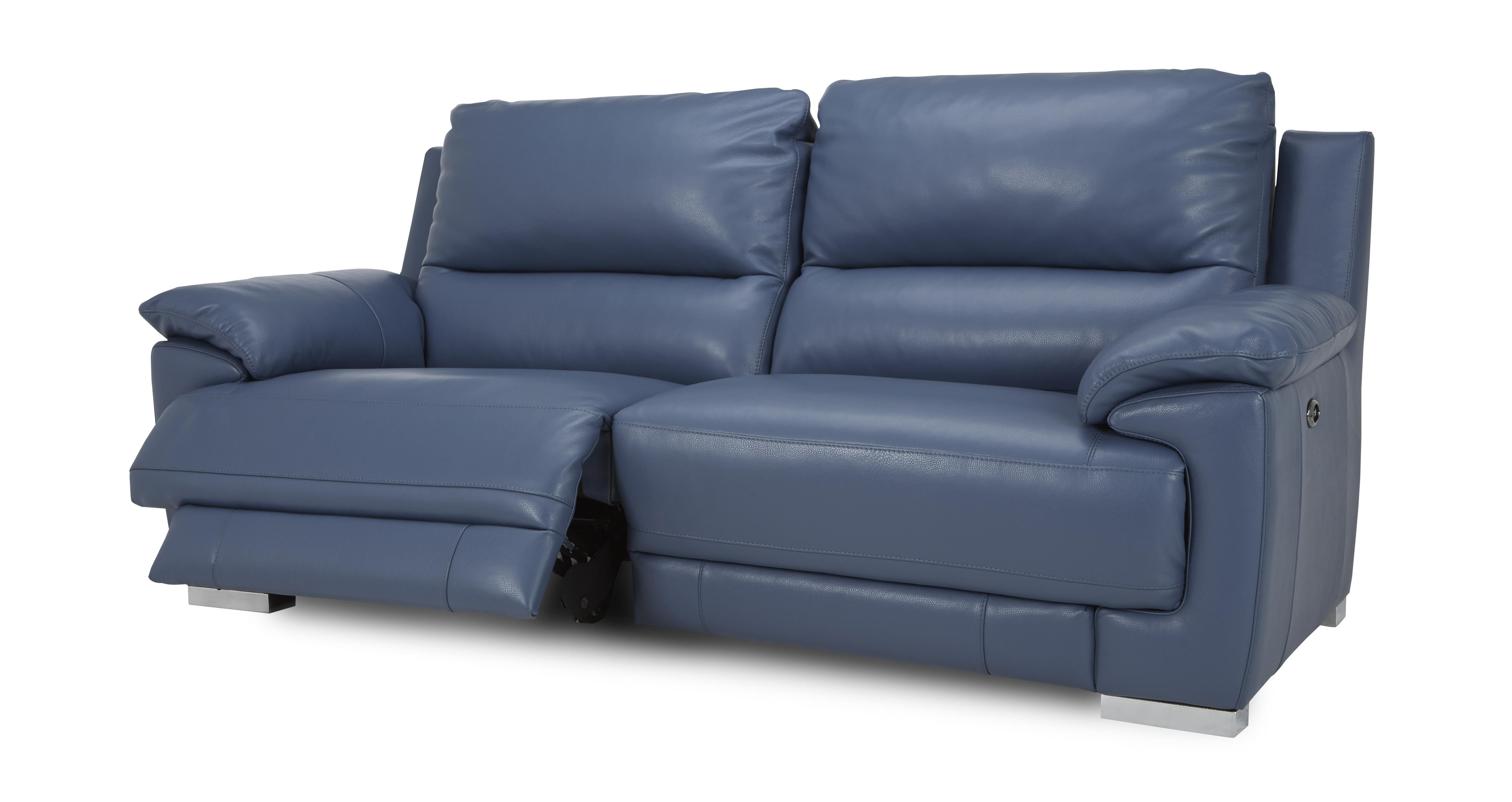 The Perfect Blue Reclining Sofa Designs For Your Living Space Modular Corner Sofa Blue Leather Sofa Leather Corner Sofa
