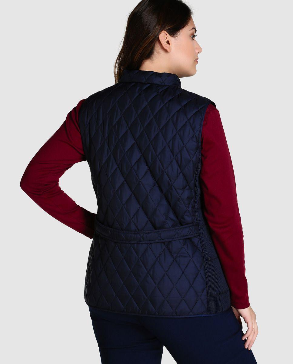 Chaleco guateado de mujer talla grande Antea Plus en color azul marino ·  Antea Plus · Moda · El Corte Inglés fb26db561189