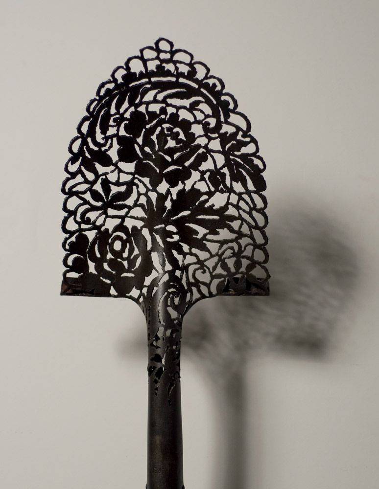 artist spotlight: cal lane | CNC Stuff | Metal tree wall art