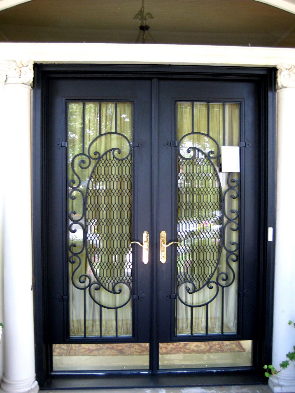 Picture Of Unique Home Designs Security Doors