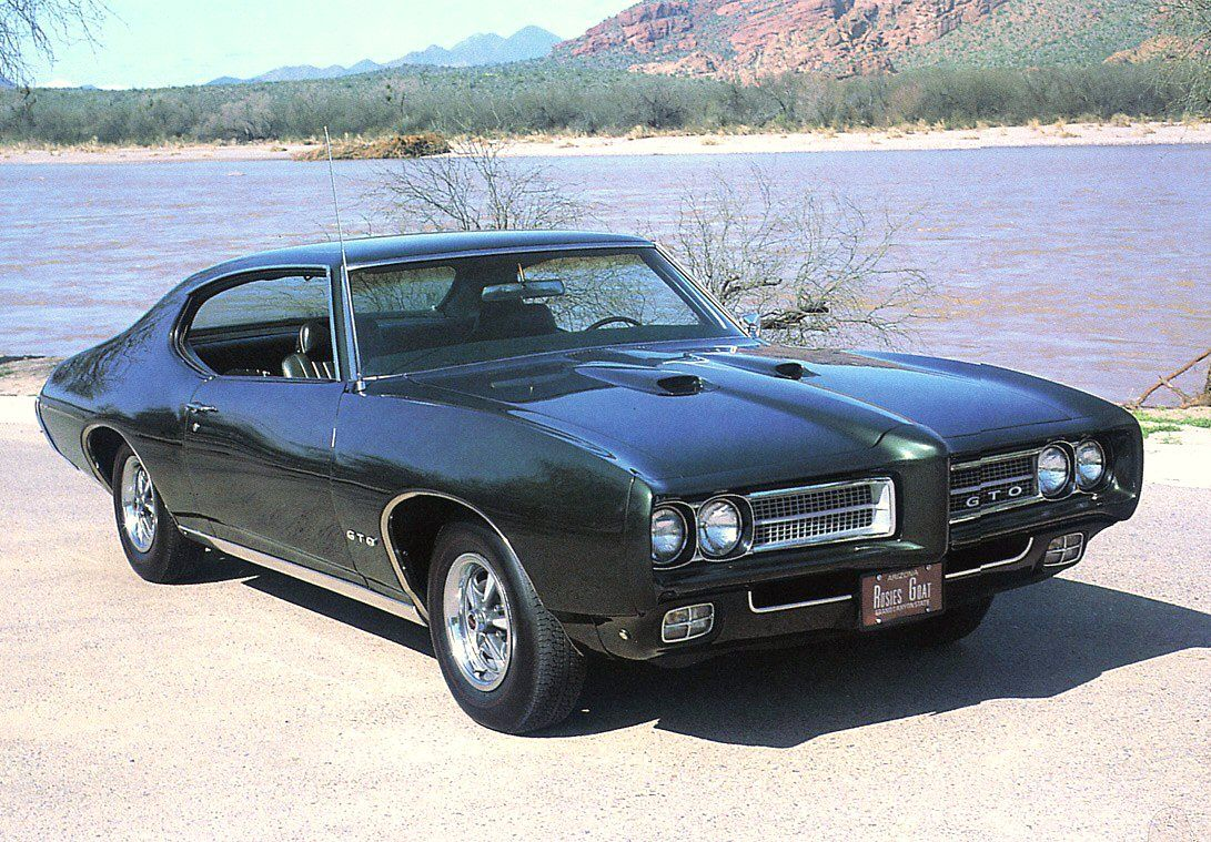 This Looks Exactly Like The One We Use To Have Muscle Cars Pontiac Gto Classic Cars Muscle