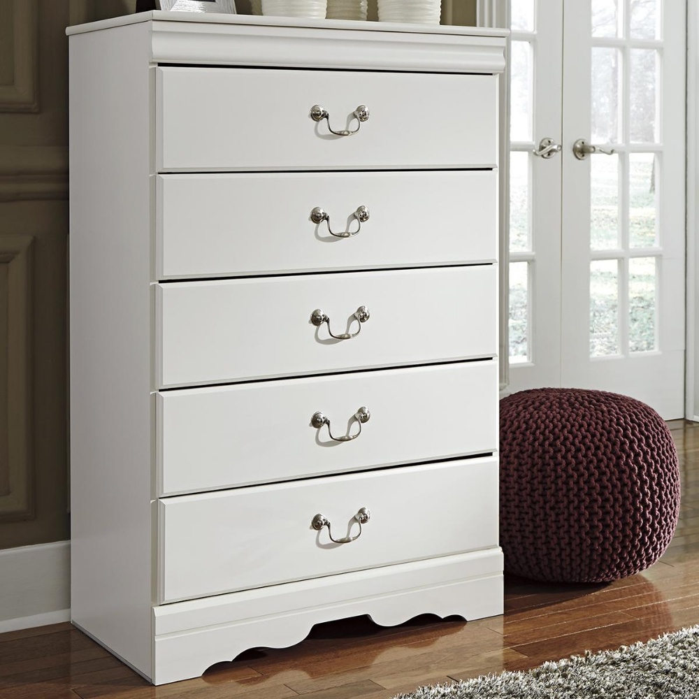 Signature Design by Ashley Anarasia 5 Drawer Chest in
