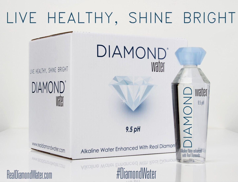 real diamond water