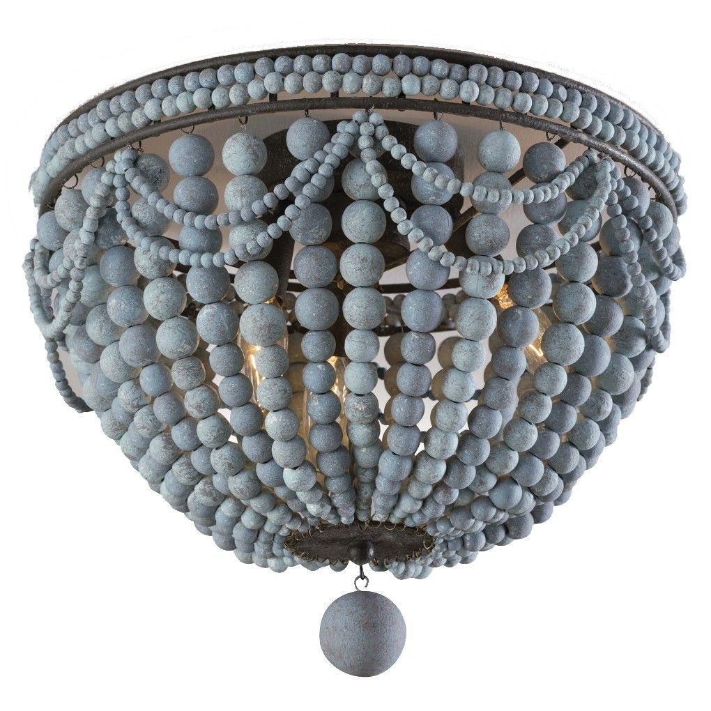 Pin By Indre Pr On Lamps With Images Wood Bead Chandelier Diy