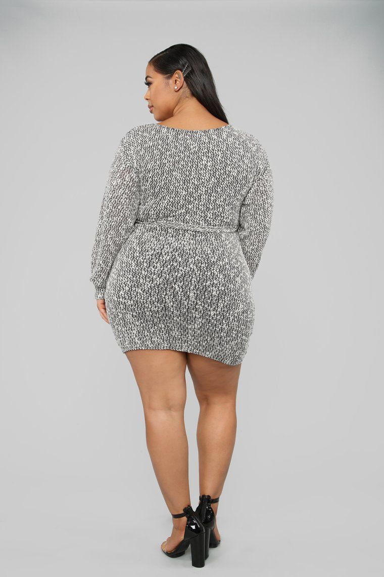 453bb71049c Cozy Night Out Sweater Mini Dress - Black in 2019