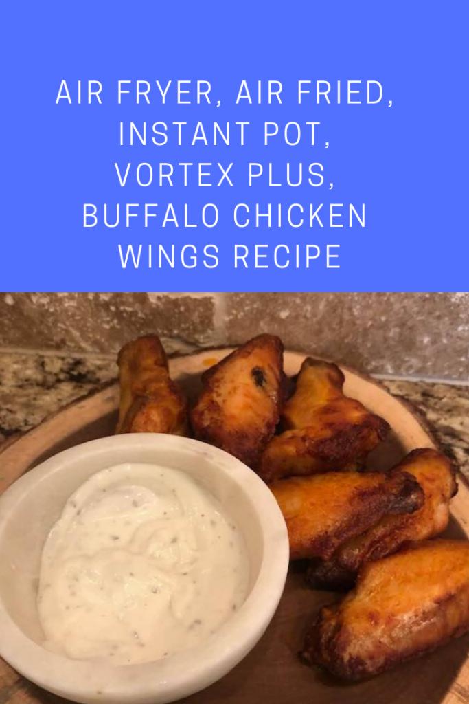 Air Fryer, Buffalo Chicken Wings Recipe