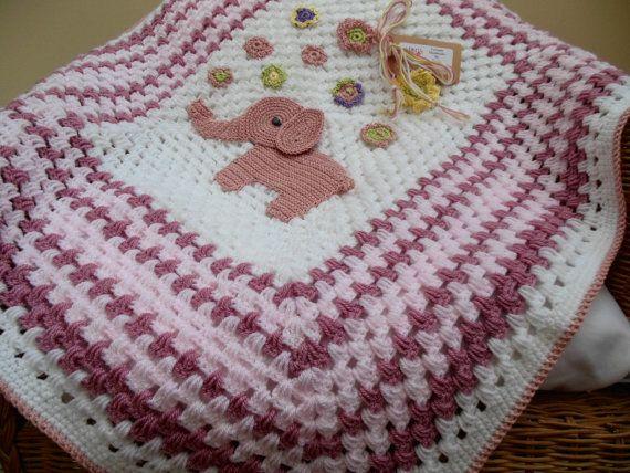 Crochet baby blanket - Graça #Baby #Blanket #Crochet #Graça in ...   428x570