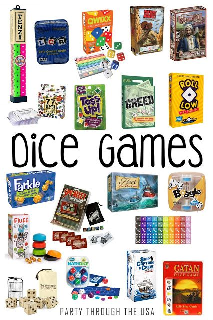 Travel Dice Games for Kids