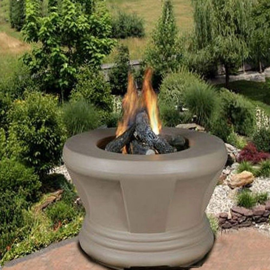 California Outdoor Concepts Cardiff Gas Fire Pit 750x Fire Pit Outdoor Fire Pit Outdoor