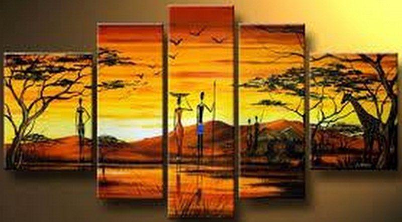 pintura y fotografa artstica cuadros africanos para pintar