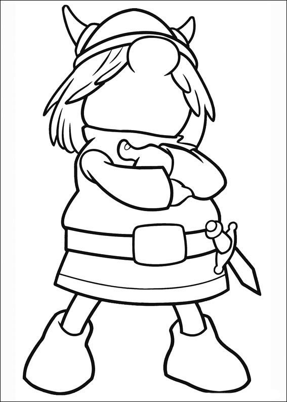 vicky el vikingo 14 dibujos faciles para dibujar para