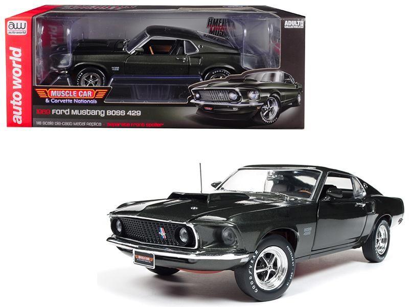1969 Ford Mustang Boss 429 Black Jade Ford Mustang Boss Mustang