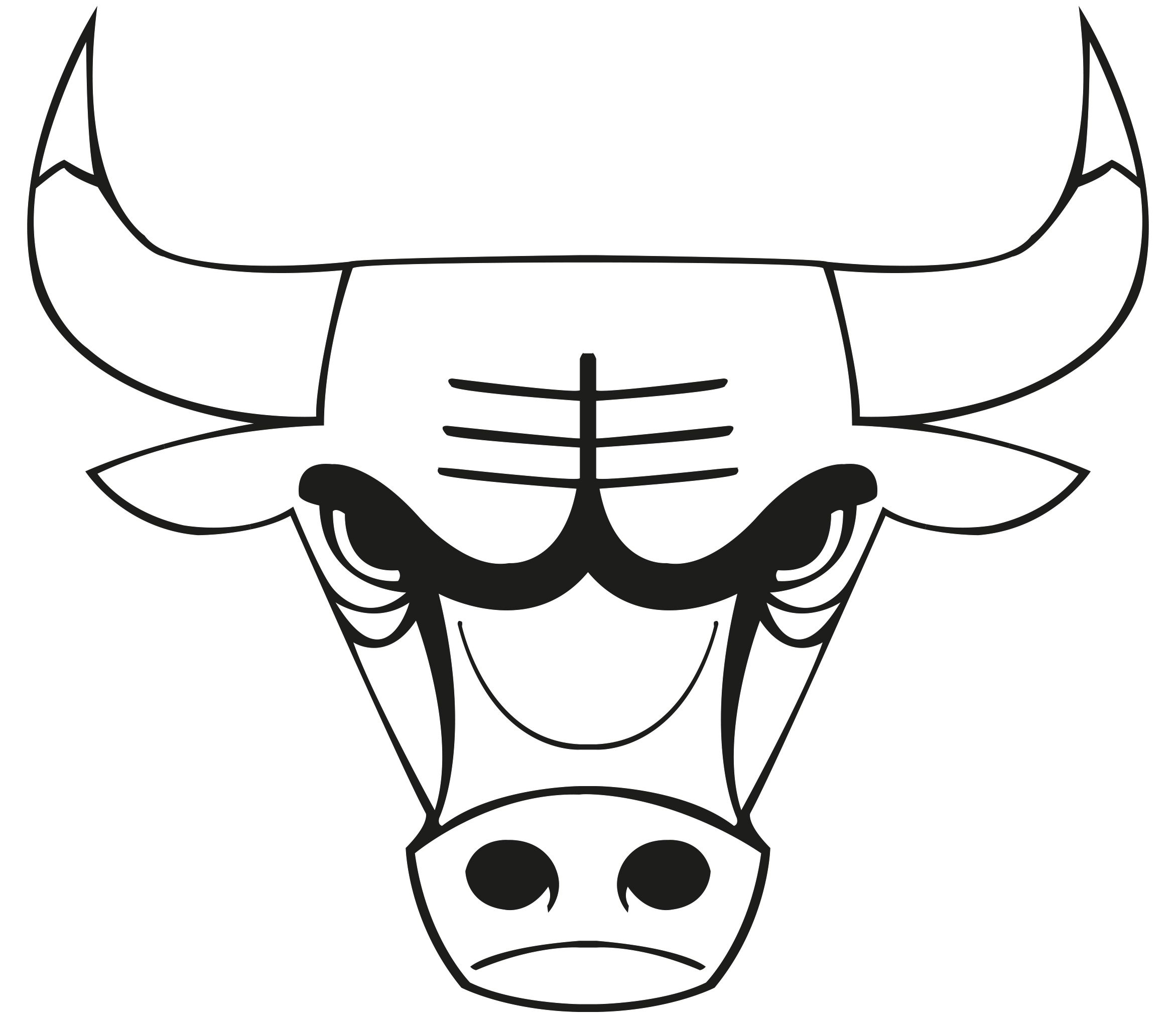 Images Of The Chicago Bulls Logo Chicago Bulls Colouring Pages